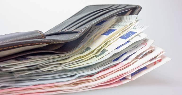 novac u novcaniku