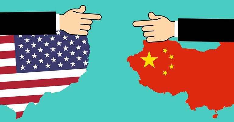 zastava amerike i kine